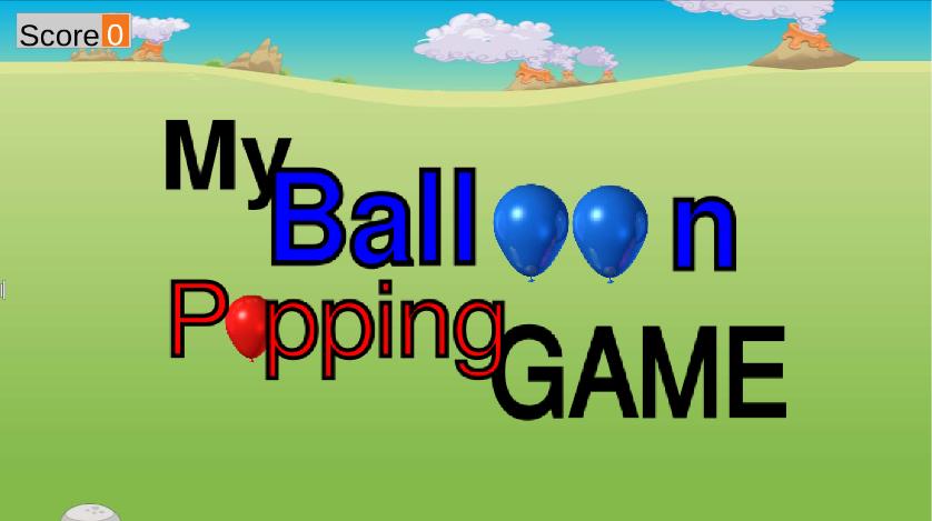 My Balloon Popping Game using Tynker